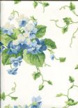 Waverly Cottage Wallpaper Sweet Violets 325736 By Rasch Textil For Brian Yates